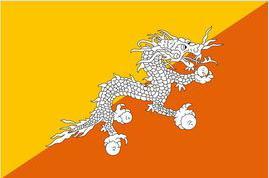 Bhutan Bandiera Nazionale Bandiera Poliestere Flying150 * 90cm 3ft x 5ft bandiera in tutto il mondo In Tutto Il Mondo esterno
