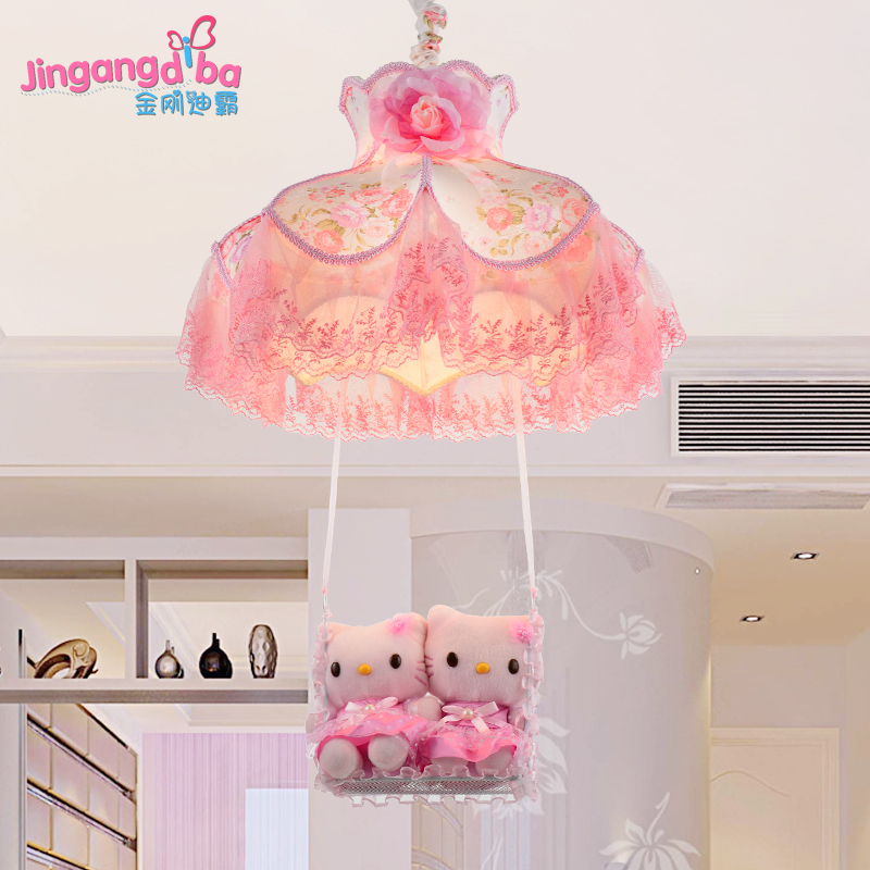 Wonderful Princess Girl Room Chandelier Bedroom Lamp LED Creative Ceiling Child Cozy  Cute Cartoon Hanging Lamps Lighting ...