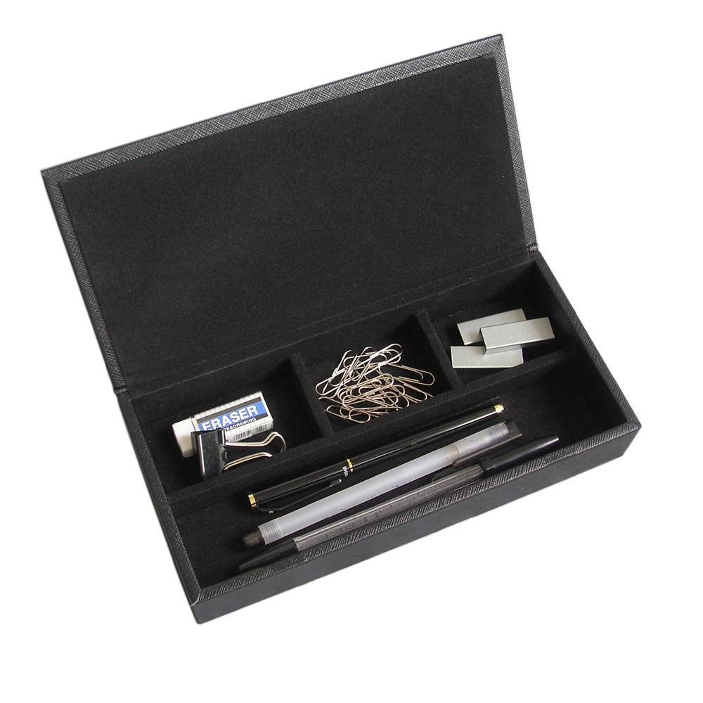 PU bőr íróasztal irodai kellékek írószer ceruza szervező - Szervezés és tárolás