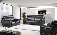 Modern Living Room Sofa 1 2 3 French Desgin Genuine Leather Sofa 1 2 3 Sectiona