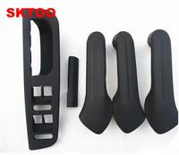 SKTOO 5pcs black inner door handle free shipping for VW / Jetta Bora Golf 4 door handle / inner door handle / inner armrest