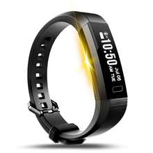 Y11 Smart LED браслет Фитнес трекер сердечного ритма Мониторы Шагомер Смарт Браслет для IOS Android-смартфон
