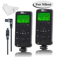 PIXEL Wireless Shutter Release Timer Remote Control Transceiver T6/TW283 DC0/TW 283 DC2 for Nikon D800 D3100 D7100 D5200 D7500