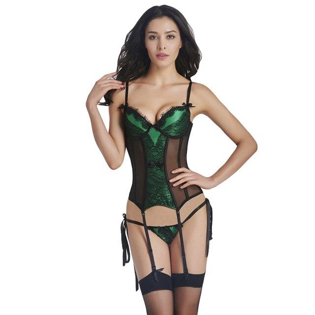 c111302783bbf Orange plus size lace teddy lingerie sexy hot verde floral malha xxl trajes  sexy produtos íntimos