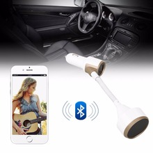 New Arrival SR08 Car Mount 3.4A Bluetooth Music Speaker MP3 Player Support TF Card Professional Car Outdoor Speakers Music Gift