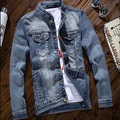 Cheap wholesale hot sale 2017 spring autumn new Men fashion casual cool slim student denim jacket