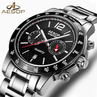 AESOP 2017 Fashion Men Watch Men Automatic Mechanical Wrist Wristwatch Chinese Waterproof Male Clock Relogio Masculino