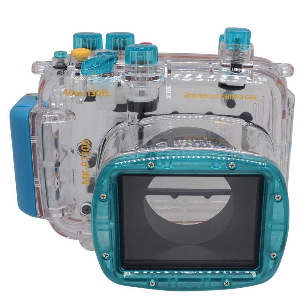 Mcoplus Waterproof Underwater Diving Housing Camera Case For Nikon Coolpix P7100 Up To 40 Meters(130ft)