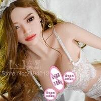 6 yedoll Najwyższej jakości 165 cm Japoński Dorosłych Duże Piersi Kobiece Ciało Stałe silikon Sex Lalki Naturalnej Wielkości Full Body Prawdziwe Cipki Sex lalki