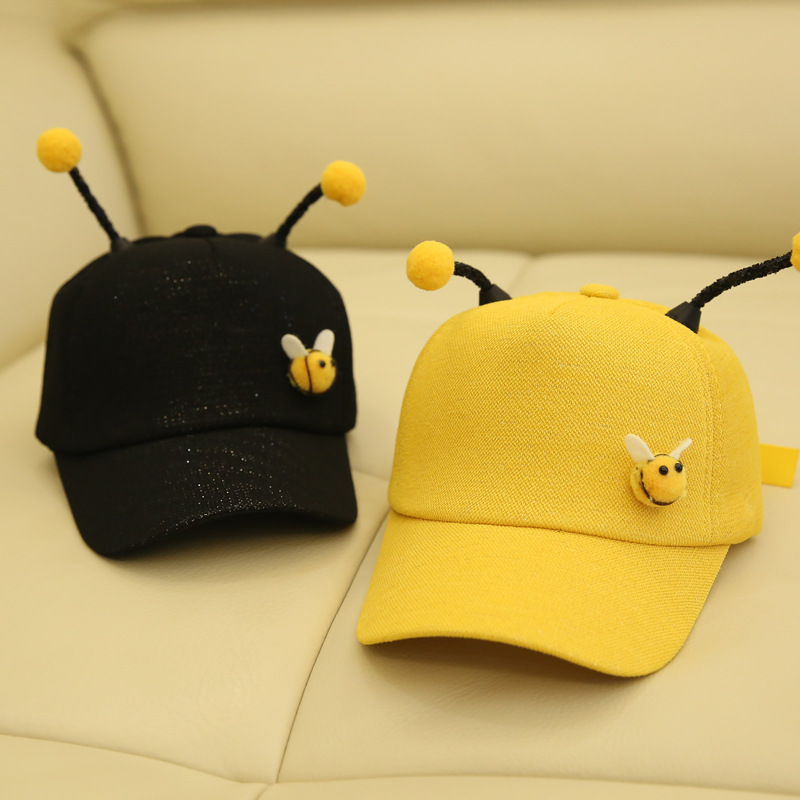 Men's Baseball Caps 10pcs/lot 01901-tyab9 2019 New Little Bee Tentacles Cute Children Leisure Cap Boy Girl Kids Baseball Hat Wholesale Apparel Accessories