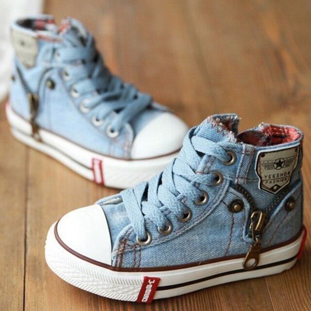 06e57a2ef 2018 de lona del niño goma botas moda niños zapatillas escalada zapatos  para niñas niños planos
