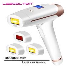 Depilador lescolton t009i 4 em 1 original, depilador a laser, removedor de pelos, tela lcd, depilador permanente para uso com biquíni