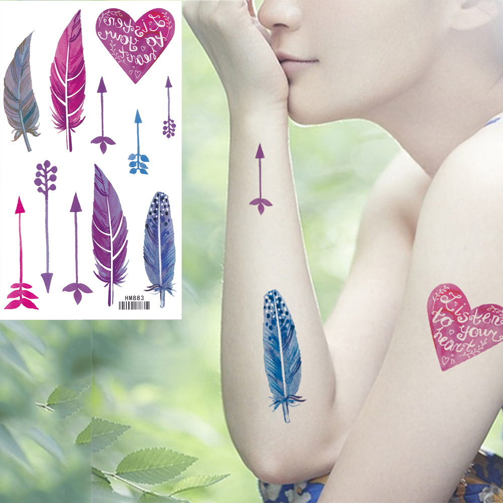 Temporary tattoo - beauty without harm to health 35