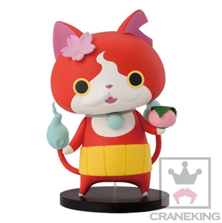 Yo-Kai Watch Original DXF Jibanyan Whisper Periphery Yokai Youkai Watch Figure Cartoon Character Action Figure Accessory Toys
