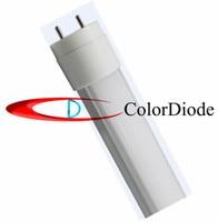 Cool white 6500K T8 LED Tube Light SMD2835 Frosted cover 60leds 1200LM AC85 265V 10W 0.6m
