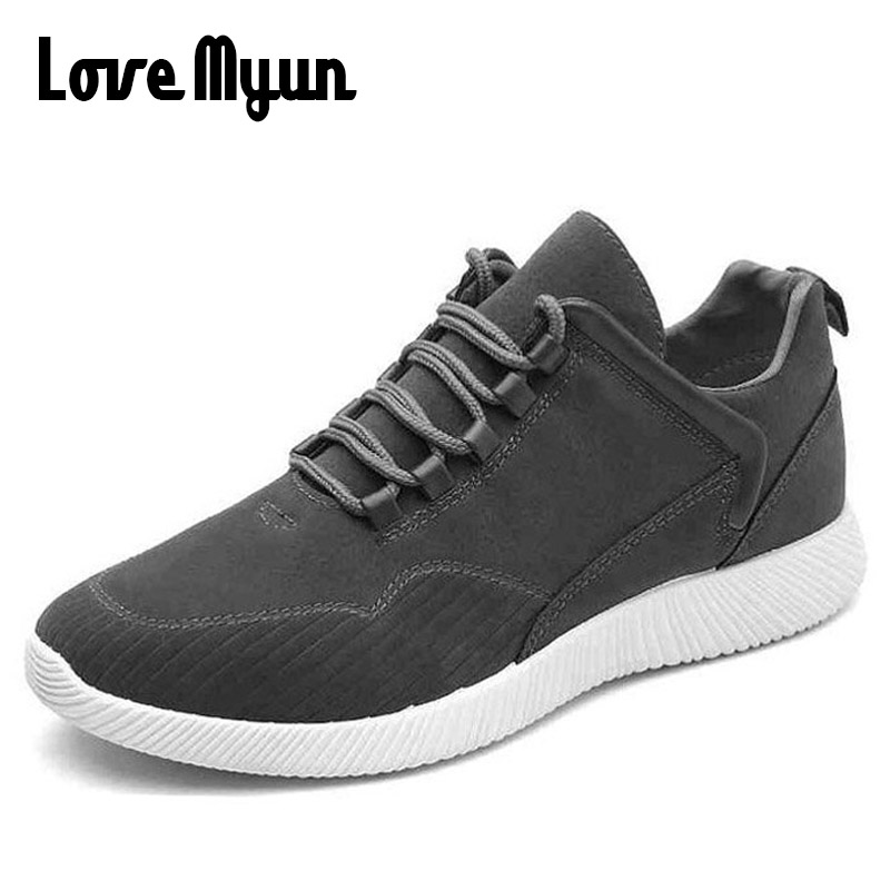 Mens casual leather shoes fashion men sneakers Breathable leather lightweight shoes casual Youth boys shoes AF-42 spring autumn casual men s shoes fashion breathable white shoes men flat youth trendy sneakers
