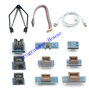 Image 2 - 2020 v10.37 minipro tl866ii além de alta velocidade usb universal bios programador + 10 itens adaptadores ic melhor do que tl866a tl866cs