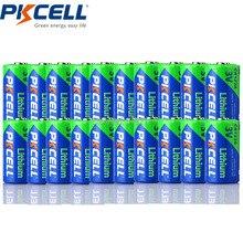 20 X PKCELL CR123A 3v батарея CR 123A CR17345 KL23a VL123A DL123A 5018LC EL123AP литиевые неперезаряжаемые батареи