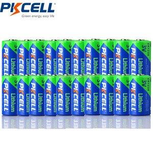 Image 1 - 20 X PKCELL CR123A 3v battery CR 123A CR17345 KL23a VL123A DL123A 5018LC EL123AP lithium Non rechargeable batteries