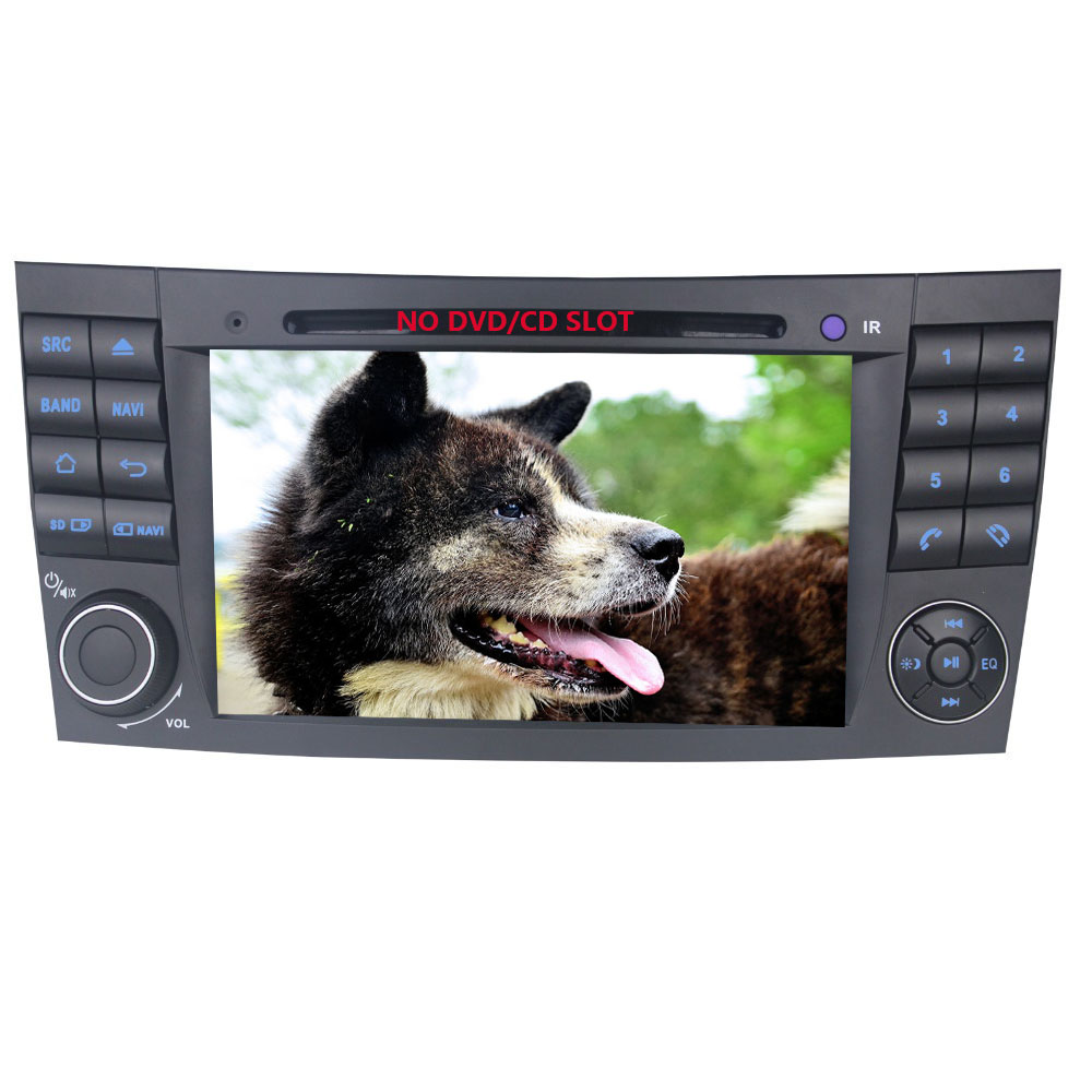 4GB 32GB 2 Din 7 quot GPS Navi Wifi Bluetooth Built in DSP BT Music Car Radio For Mercedes Benz E Class W211 Multimedia Player in Car Multimedia Player from Automobiles amp Motorcycles