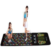 Medialbranch красочные пластиковые массажер для ног pad иглоукалывание булыжник коврик для йоги 175*35 cm (masajeador де пироги masajeador de)