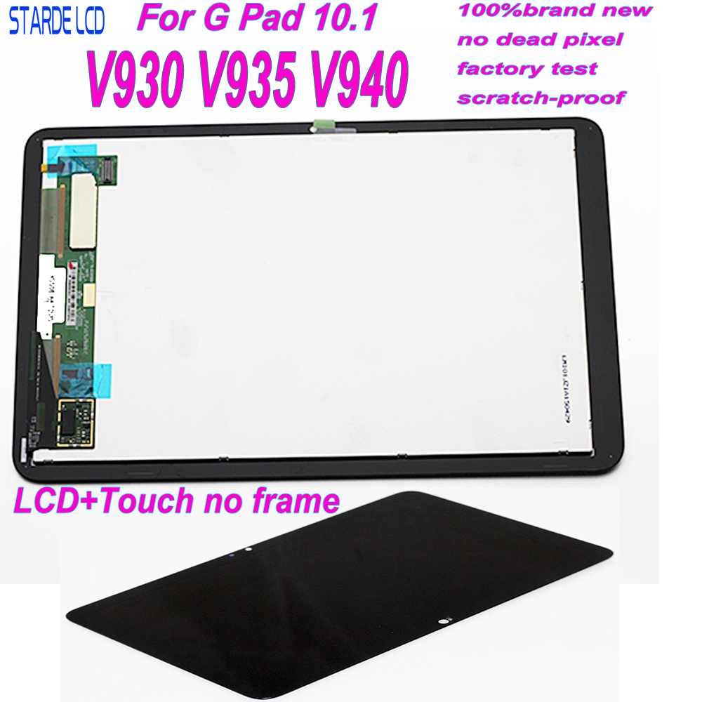 Starde LCD For LG V930 V935 V940 LCD Display Touch Screen Digitizer Assembly Replacement Parts For V940 LCD