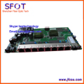 PCB board PD with 8 ethernet ports, reverse POE optical network EPON ONU,8 ports PCB card
