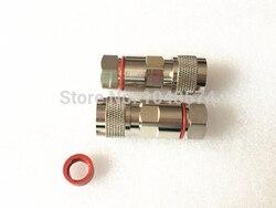 Freies verschiffen 10 Stücke Verbinder n-stecker klemmschraube für 1/2 superflexible RF koaxialen speisekabel