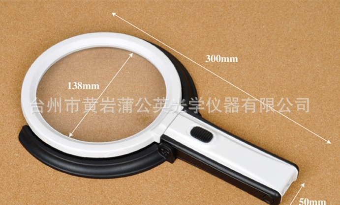 Factory Direct Mg3b-1b And Mg3b-1d With Led Lamp With Plug Can Be Folded Desk Working Magnifying Glass