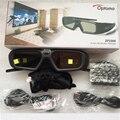 1 компл. оригинальный ZF2300 Активный РФ 2.4 Г bluetooth 3D Очки только Для Optoma VESA 3D Проектор HD26/3DW1/HD33/HD25/HD25E Излучатель