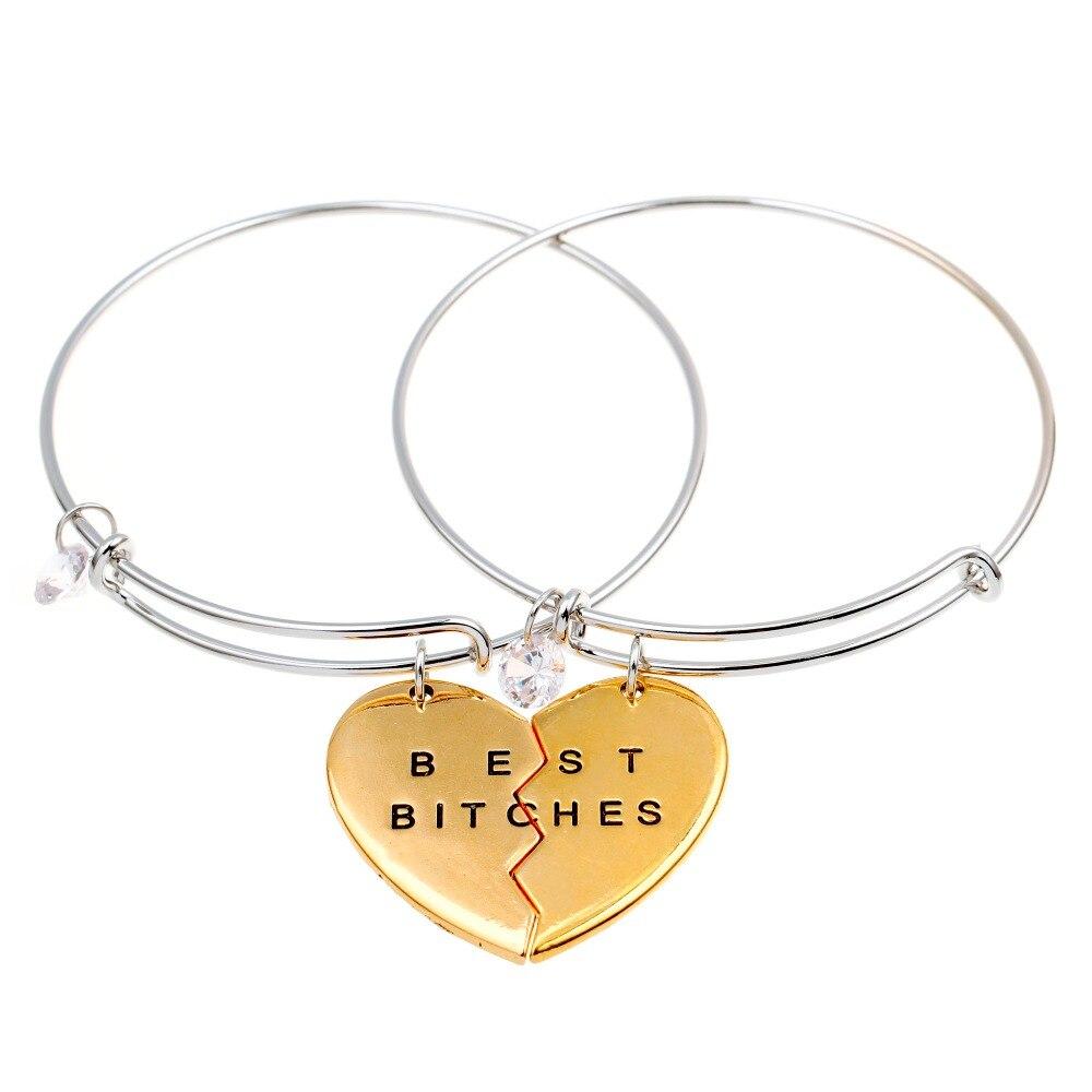 ᓂNuevo estilo de moda amistad pulseras Femme paracord pulsera ...