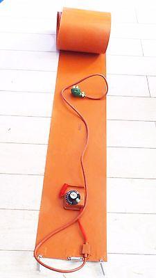 250x1550x1.8mm 1800W Flexible Silicon Band Drum Heater Blanket Oil Biodiesel Plastic Metal Barrel Electrical Wires 200l 55gallon 240v 1000w silicon metal oil drum heater dgz car accessories silicon heater