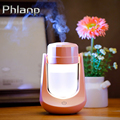 Phlanp USB U Cool Air Humidifier 180 Rotate Ultrasonic Mist Air Swing Household Aroma Essential Diffuser Sprayer Maker fogger Image