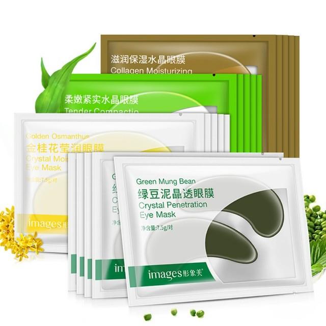 US $0 8 |Mung Bean Mud Eye Care Mask Dark Circle Eye Mask Anti Aging Anti  Wrinkle Eye Fine Lines Skin Care Face K2-in Creams from Beauty & Health on
