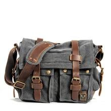 MUCHUAN холщовые кожаные мужские сумки-мессенджеры I AM LEGEND Will Smith большая сумка на плечо мужской портфель для ноутбука дорожная сумка