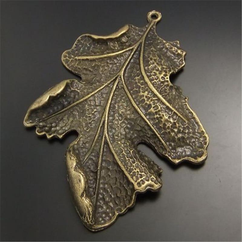 4pcs Vintage Bronze Acorn Shaped Alloy Pendants Charms Findings Crafts 52300