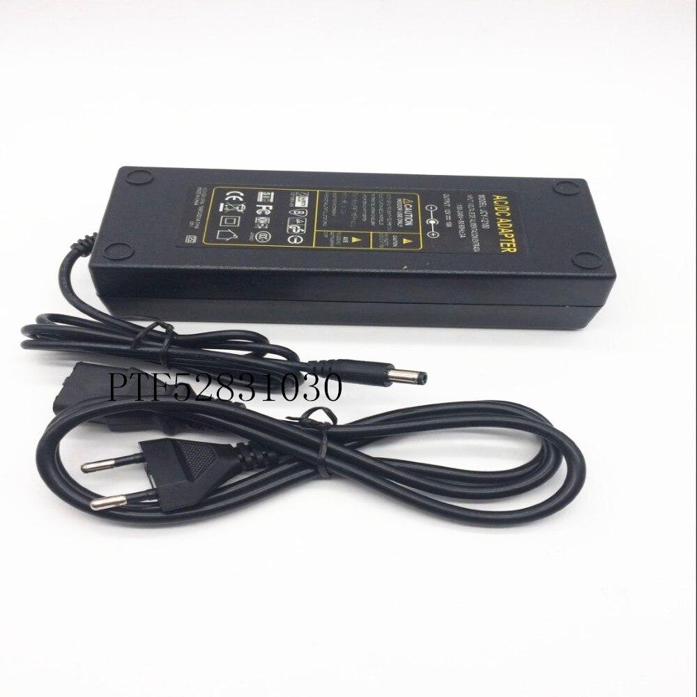 2PCS AC100-240V to DC 12V 10A power adapter for led strip LCD CCTV US/EU/AU/UK plug DC12V Lighting transformer