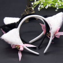 Women Cute Hair accessories Fashion Lady Girl Fox Cat Ears Head Bands Lovely Charming Night Party Club Bar Hair Clip Hairband(China)