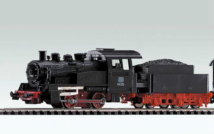 German Steam Train Model 1/87 50501 Initial European Steam Model