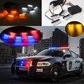 2x3 4x3 6x3 8x3LED Car Strobe Flash Aviso EMS Polícia luzes Bombeiros Âmbar De Emergência De Alta Potência Azul Vermelho Branco Verde amarelo