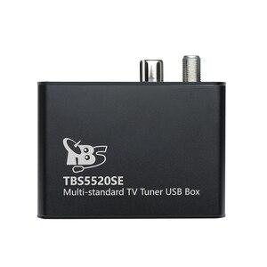 Image 5 - Sintonizador universal de tv tbs5520se, caixa usb multipadrão para visualização e gravação DVB S2X/s2/s/t2/t/c2/c/ISDB T fta tv no pc