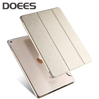 DOEES Leather Cover For Apple Air 2 9 7 Tablet PC Case Smart Accessories Luxury Case