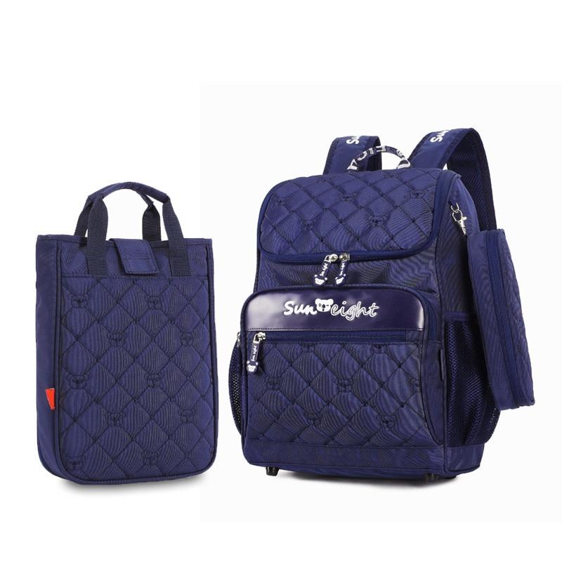 School Backpacks For Girls Boys Children School Bags Set Mochila Escolar Kids Backpack Child Book Bag Shoulder Rucksack