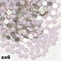 SS6 Rosa Opal Strass Unhas, 1440 pçs/lote Plana Volta Non Hotfix Glitter Pedras Prego, Prego 3d DIY Telefones decorações Suprimentos