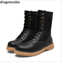 2017 fashionr Army Zapatos Boots Men's Military Desert Tactical Boot Shoes Autumn Breathable Combat Ankle Boots Botas Tacticos