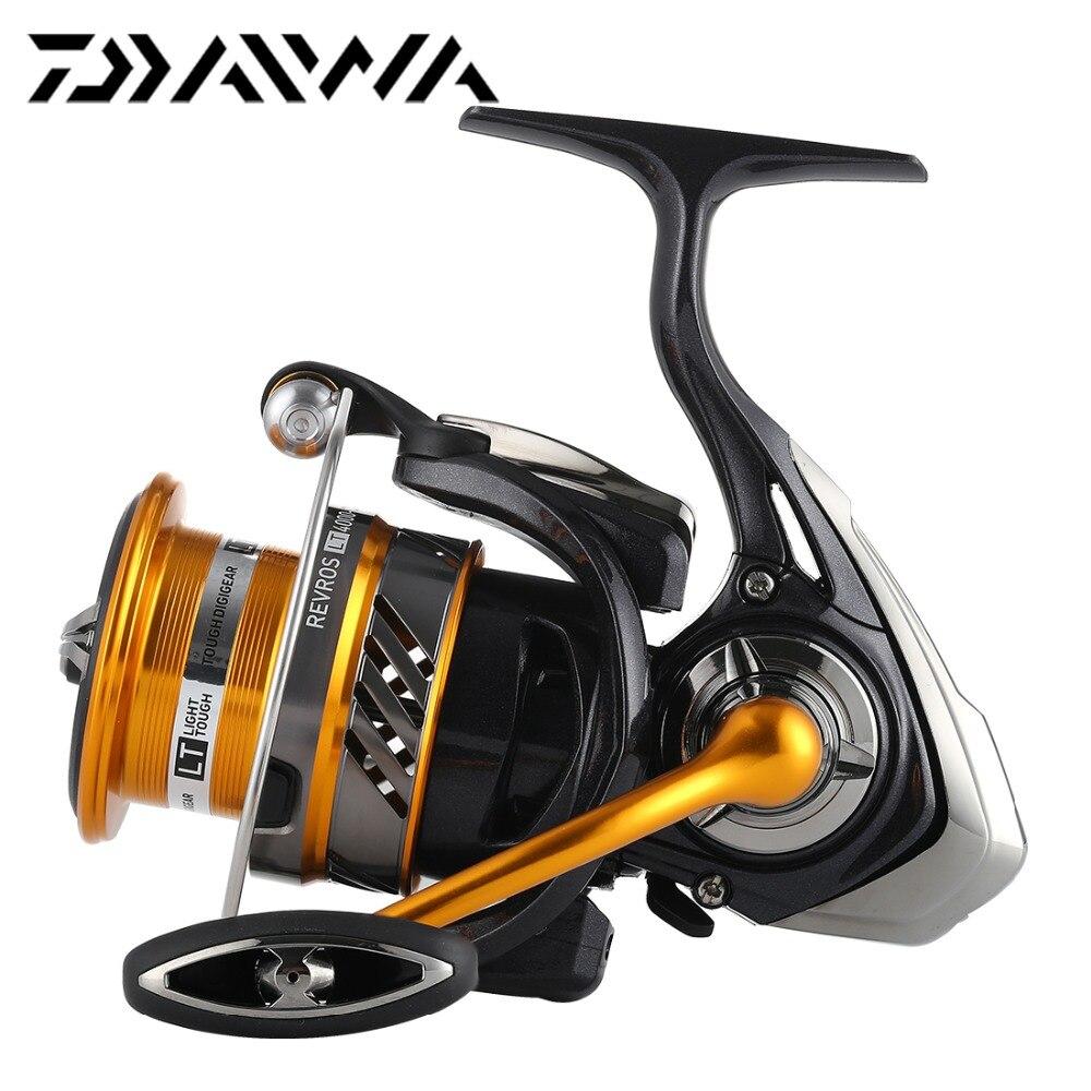 2019 Original DAIWA REVROS LT 1000XH 2000XH 2500XH 3000CXH 4000CXH 5000CXH Spinning Fishing Reel Aluminum Wheel