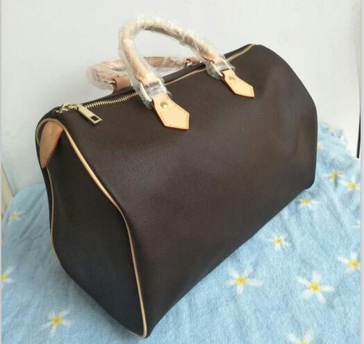 Free shipping!!!2019 Hot selling new fashion women handbag good quality pu speedy bag without strapFree shipping!!!2019 Hot selling new fashion women handbag good quality pu speedy bag without strap