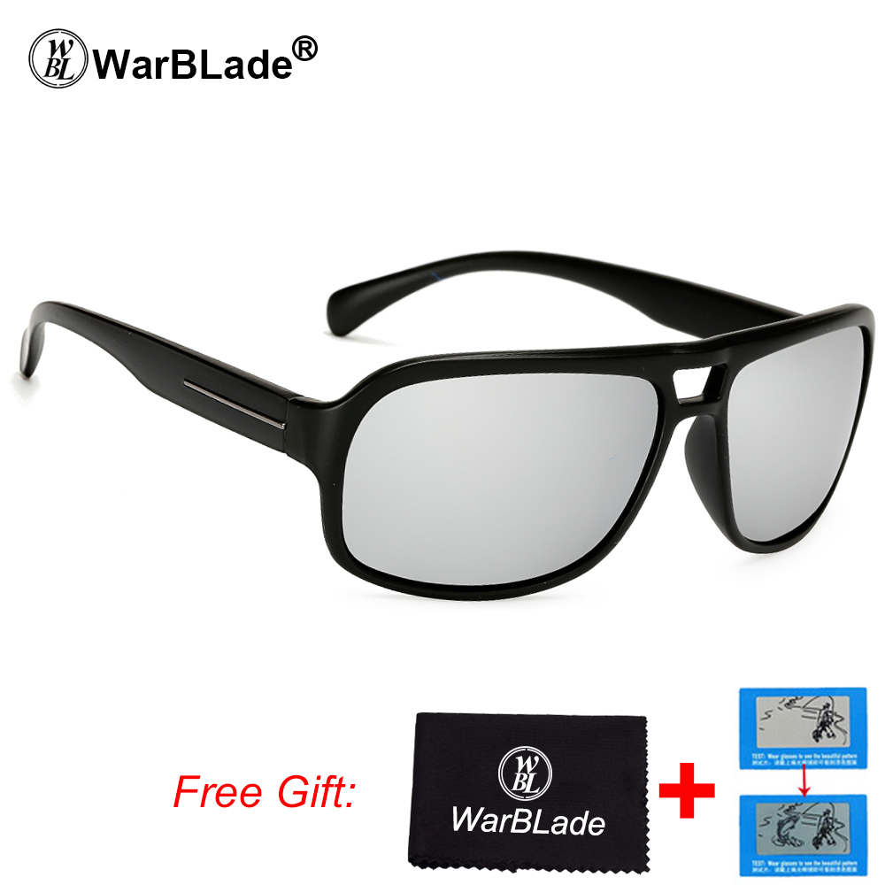 cbe15a0ac8 Detail Feedback Questions about WarBLade Outdoor Sport Brown Sunglasses Men  Polarized Fishing UV400 Sun Glasses Polaroid Original Oculos De Sol Sunglass  ...