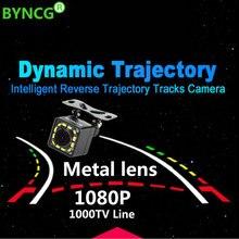 2019 новый динамический траектории Универсальный 12 огни CCD HD Цвет водостойкий Автомобильная камера заднего вида резервного копирования ночное видение Парковка камера