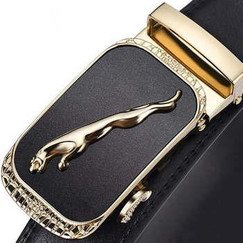 Luxusný kožený opasok Jaguar – 10 variantov